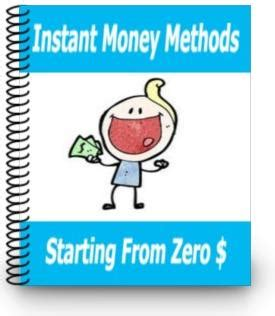How To Make Instant Money Online - how to make money online with zero money to get started with