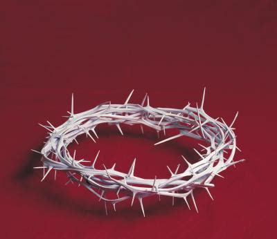 craft crown of thorns activities for kids on lent and the crown of thorns our