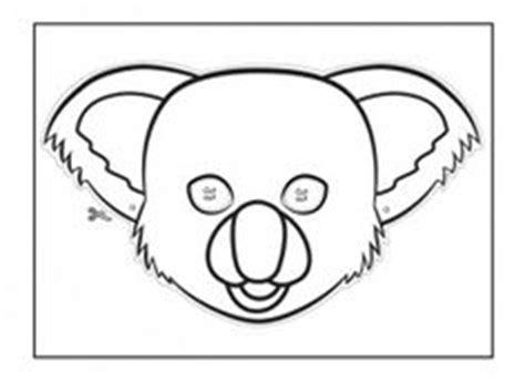 printable possum mask template 1000 images about australian animal masks on pinterest
