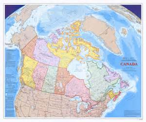 atlas map of canada the atlas of canada wall maps