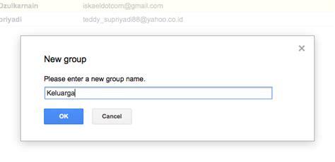 membuat grup kontak di yahoo mail cara mudah membuat grup email di gmail