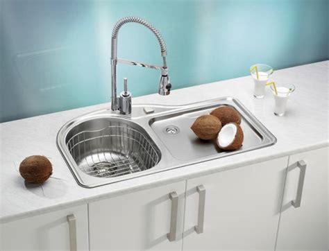 Modern Kitchen Sinks Stainless Steel Stainless Steel Kitchen Sinks And Modern Faucets Functional Kitchen Design Ideas