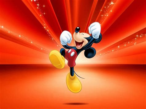 happy mickey mouse hd wallpaper wallpaperscom