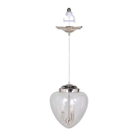 Pendant Light Conversion Worth Home Products Instant Pendant Series 3 Lights Brushed Nickel Mini Chandelier Recessed