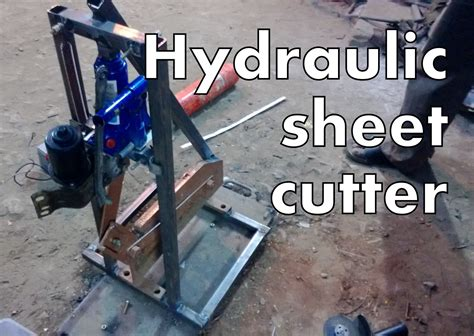 diy engineering projects mechanical engineering project hydraulic cutter
