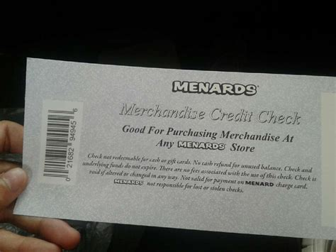 Menards Gift Card - letgo menards gift card in jeff in