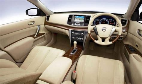 nissan teana interior nissan teana to offer more luxury bkkautos com