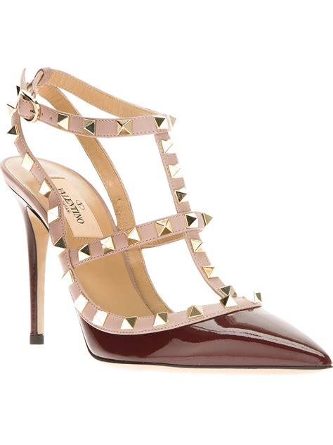 valentino studded sandals valentino studded sandal in lyst