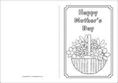 preschool mothers day card template 1000 images about s day printables on