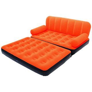 5 in 1 air sofa bed homeshop18 velvet 5 in 1 air sofa bed available at shopclues for