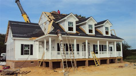 cost of building a modular home setting a modular home on foundation vapor barrier under