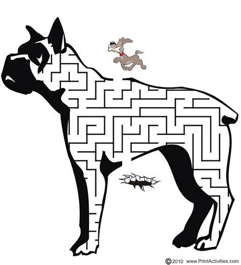 printable dog maze bulldog maze free printable bulldog shaped maze