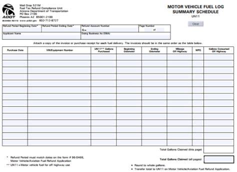 fuel report template 5 fuel consumption log templates free sle templates