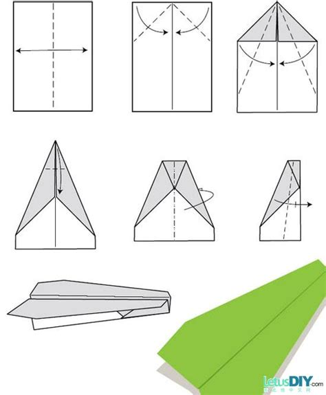 Ways To Fold A Paper Airplane - 12 ways to fold paper plane letusdiy org diy