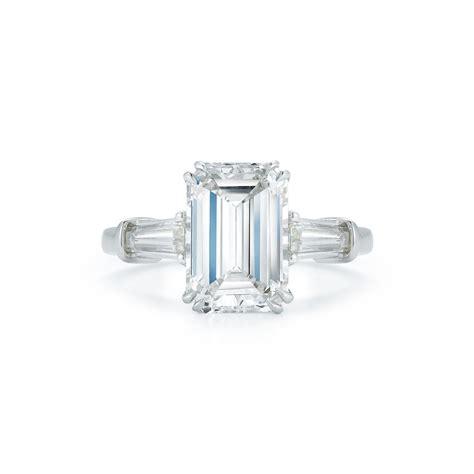 2 99 carat emerald cut engagement ring marshall