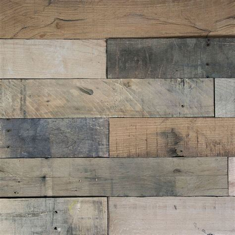 nuvelle deco planks picket fence sun baked 1 2 in x 4 in wide x 24 in length solid hardwood