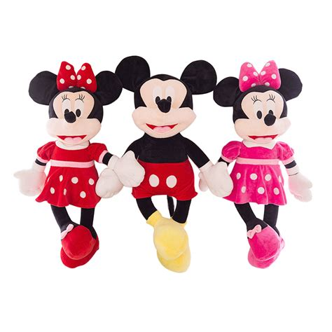 Ailubee Piyama Minnie Mouse Kidsz 1pc 40cm mickey mouse and minnie mouse plush toys stuffed figure dolls baby