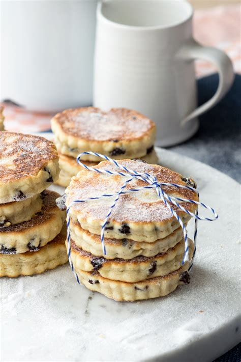Pancake Flour little welsh cakes full of spice the worktop