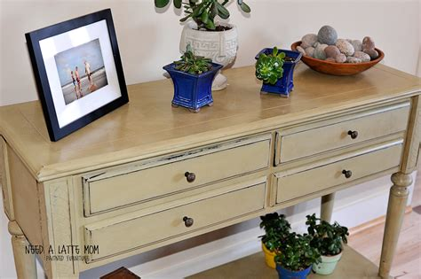 Sloan Chalk Paint Furniture by Need A Latte Versaille Chalk Paint Before And After