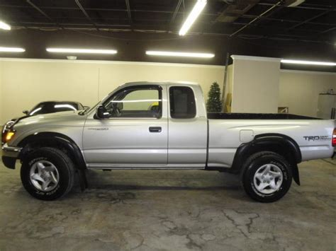 2001 Toyota Tacoma Fuel Economy 2001 Toyota Tacoma V6 2dr Xtracab 4wd Sb For Sale In
