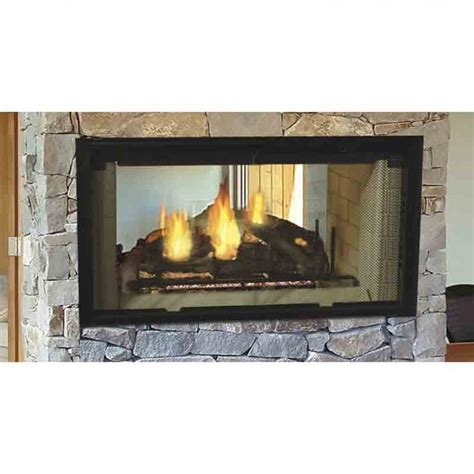 Majestic Fireplaces Wood Burning Fireplace by Majestic Designer See Through Wood Burning Fireplace