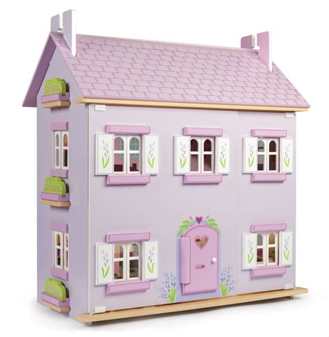 toy dolls house le toy van doll house lavender entropy