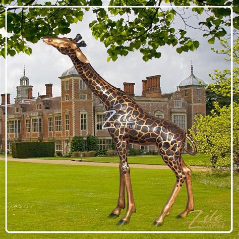 large outdoor decorations for sale outdoor decoration bronze large decorative giraffe statues