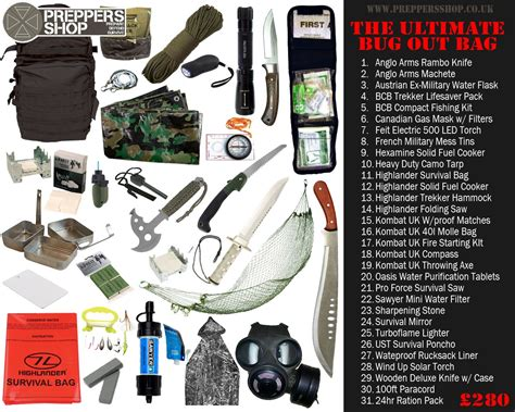 53 essential bug out bag supplies how to build a suburban go bag you can rely upon books preppers shop ultimate bug out bag