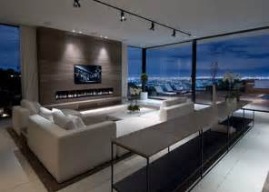 modern luxury homes interior design luxury modern living room interior design of haynes house by steve hermann los angeles