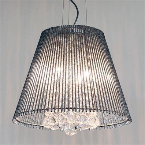 Conical L Shade by Conical Silver Shade Chandelier