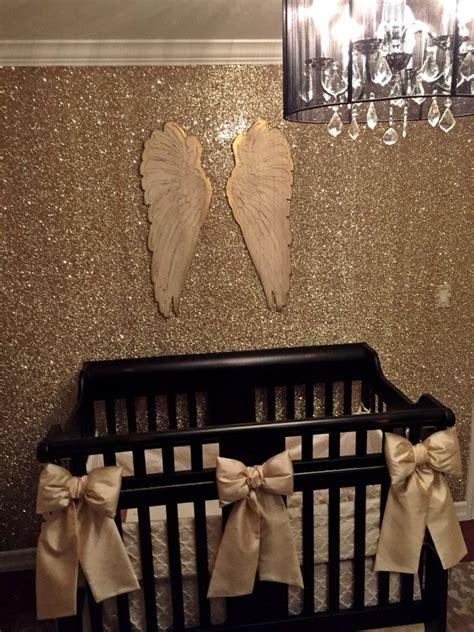 glitter wallpaper nursery the 25 best glitter nursery ideas on pinterest glitter