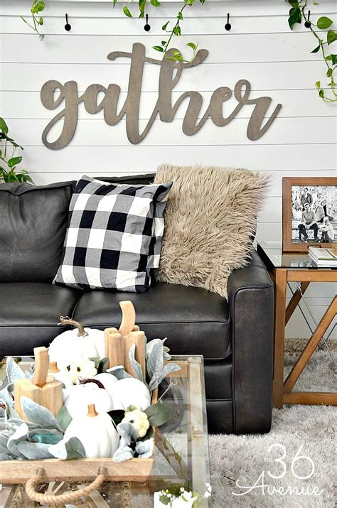 Decor Of Home Living Room Farmhouse Decor Ideas The 36th Avenue