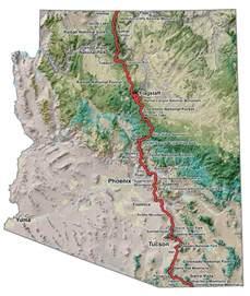 arizona hiking trail maps a trail club arizona trail association guthook hikes