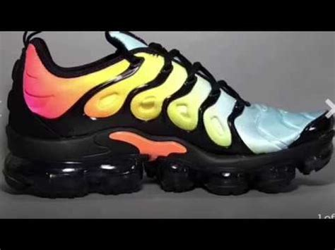 imagenes nike vapormax first look at nike air vapormax plus quot sunset quot youtube