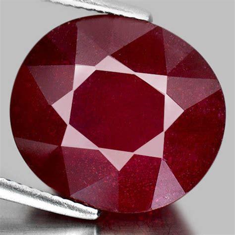 Purplish Ruby Madagascar 20 39 ct oval shape purplish ruby gemstone madagascar ebay