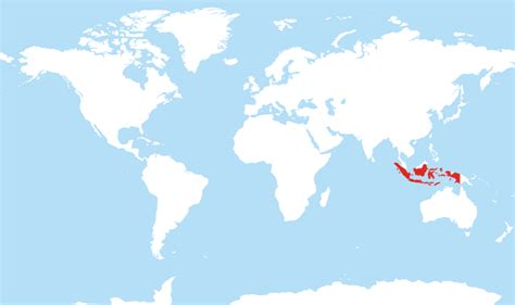 World Map Indonesia by Where Is Indonesia Located On The World Map