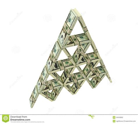 house of bundles house of cards built from dollar bundles stock photography image 34043852
