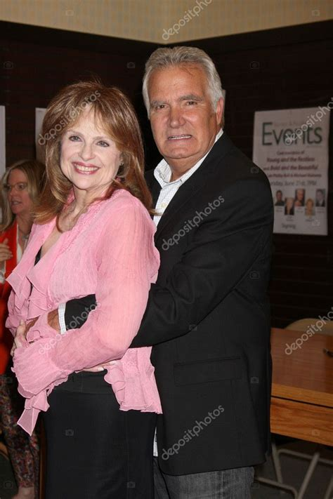 john mccook pays visit to the young and the restless janice lynde john mccook early ynr costars leslie brooks