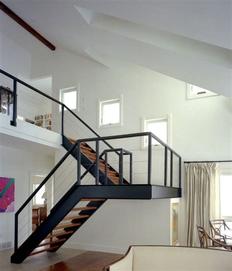 Aluminium Stairs Design 10 Steel Staircase Designs Sleek Durable And Strong Staircases Steel And