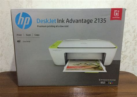 Printer Merk Hp 2135 hp deskjet ink advantage 2135 all in one printer unboxing