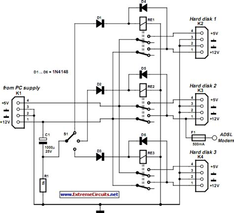 rom circuit diagram cd rom power supply circuit diagram circuit and