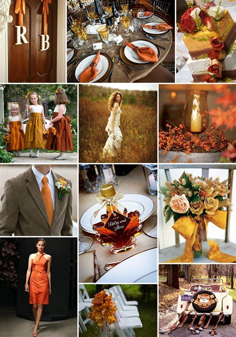 Bridal Basics: Fall Wedding Reception Decorating Idea