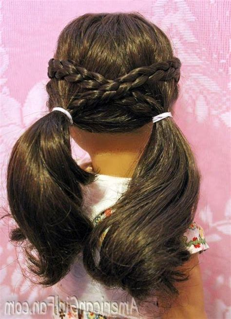 hairstyles for long hair dolls 15 best collection of cute hairstyles for american girl