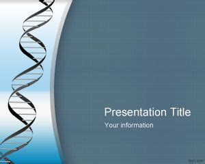 ppt templates free download genetics genetic powerpoint template