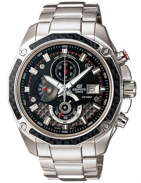 jual jam tangan pria merk casio edifice silver plat htm