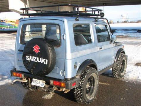 Suzuki Samurai Roof Rack Purchase New 1988 5 Suzuki Samurai 4x4 Tin Top Roof Rack
