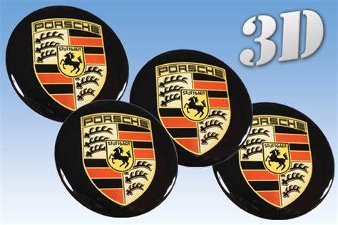 Porsche Nabendeckel Aufkleber 65mm by Porsche 3d Car Decals For Wheel Center Caps Shop