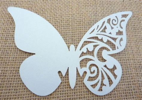 butterfly place cards for wine glasses template plus de 1000 id 233 es 224 propos de siluetas sur