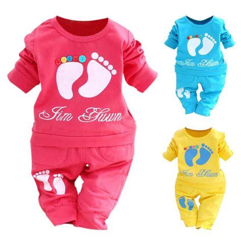 Kiddy Baby Clothing Set Sheep Size Newborn Color Pink color baby clothing set infant sleeve suit t shirt 2 pcs