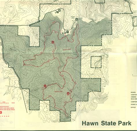 park trail map science club hiking trails